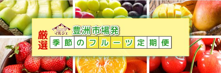 豊洲市場発、厳選、季節のフルーツ定期便
